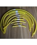 Silicone Vacuum Hose Kit (Yellow)