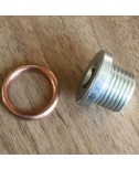 Oil Sump Drain Plug with washer