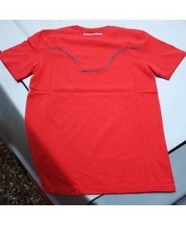 DeLorean T Shirt - Orange/Red