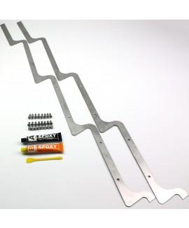Early Style Sunshade / Louvre Reinforcement Strip / Bracket Set