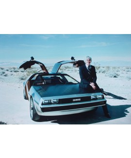 DeLorean Prototype Poster - LAST ONE!