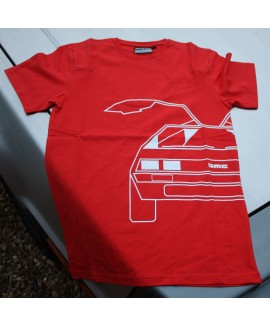 DeLorean T Shirt - Orange/Red