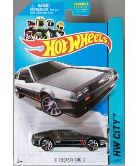 Hot Wheels DeLorean Toy