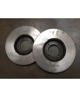 Front Brake Discs (PAIR) - REFURBISHED - price includes £30 refundable core deposit