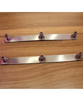 The DFlector™ Stainless Air Deflector Retaining Strip Kit (PAIR)