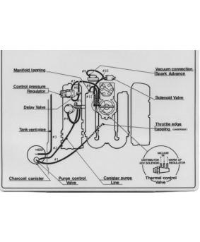 Silicone Vacuum Hose Kit (Blue)