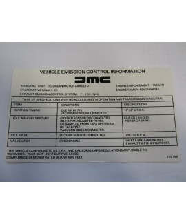Label - Emission Control