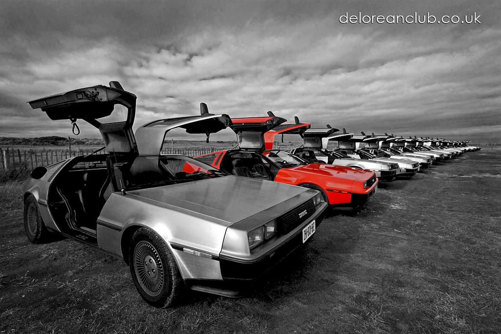 DeLorean EuroTec Meet 2011