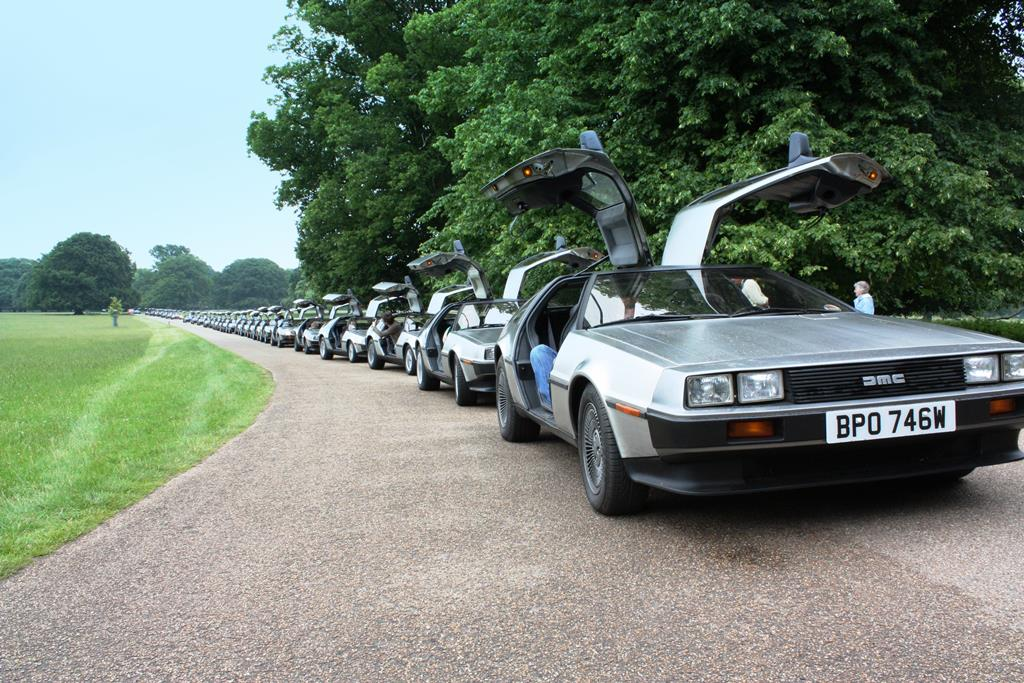 DeLorean EuroTec Meet 2008