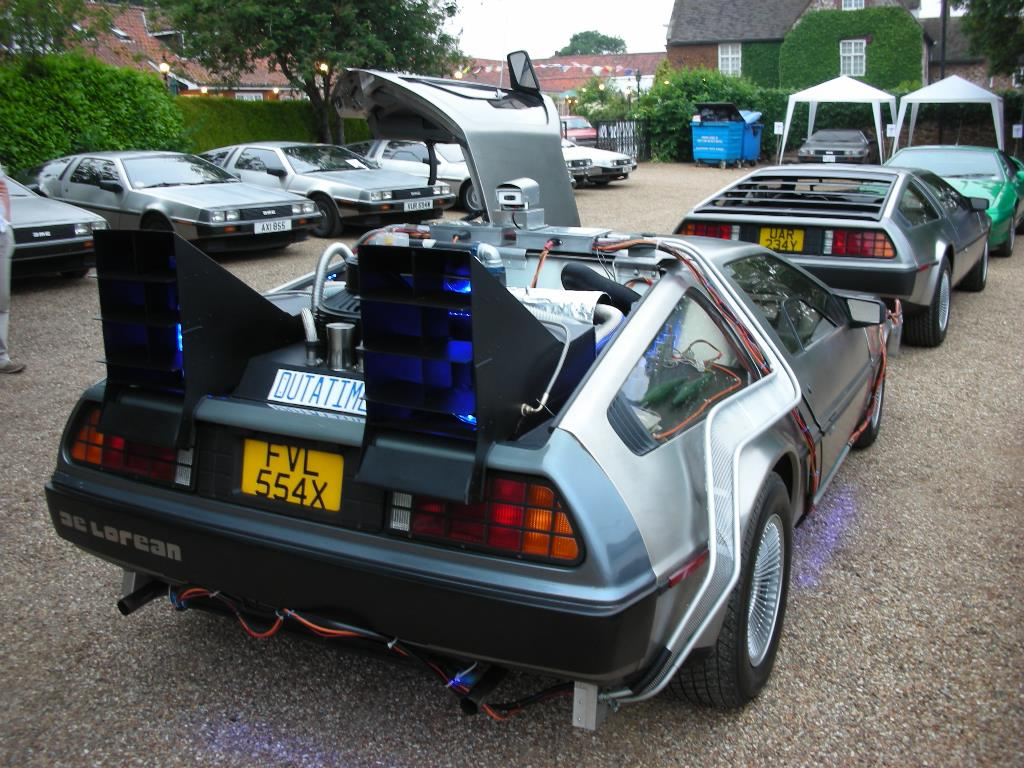 DeLorean EuroTec Meet 2007