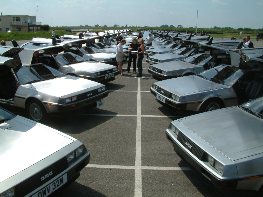 The DeLorean Owners Club Lotus 2006 event