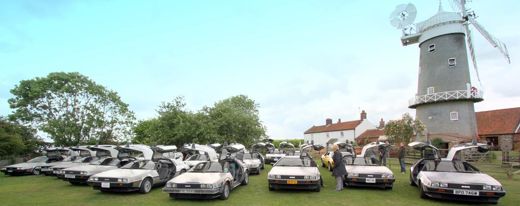 DeLorean EuroTec Meet 2009