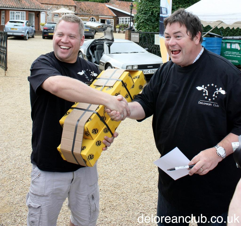 Mike Brewer filming Wheeler Dealers in 2011