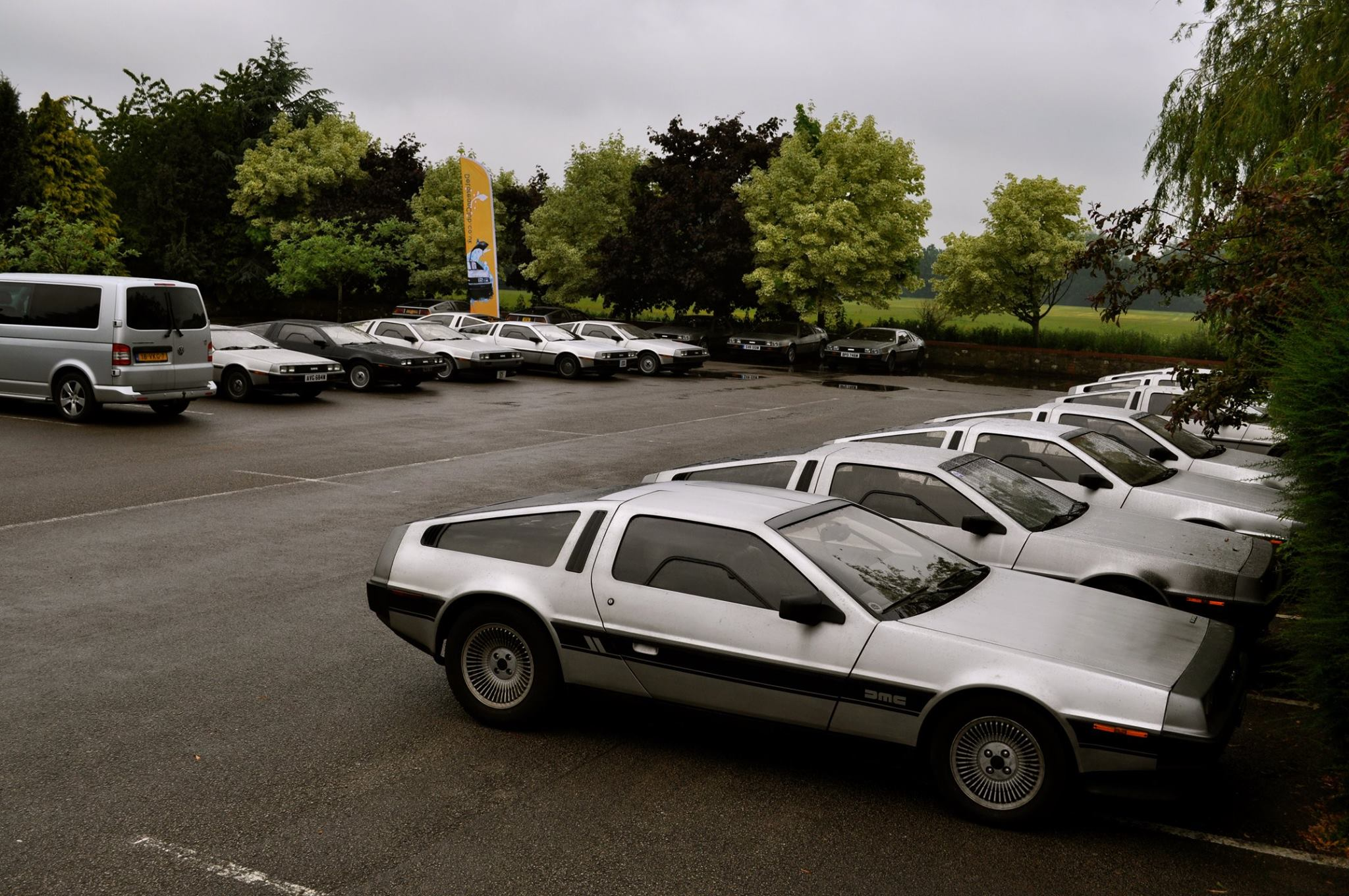 DeLorean EuroTec event 2015