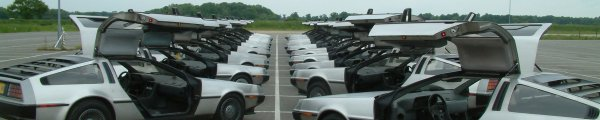DeLorean EuroTec 2006 event