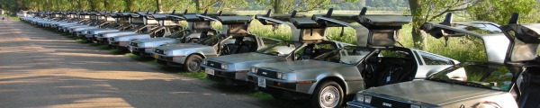 DeLorean EuroTec 2007 event