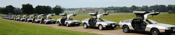 DeLorean EuroTec 2008 event