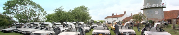 DeLorean EuroTec 2009 event