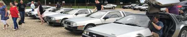 DeLorean EuroTec 2016 event