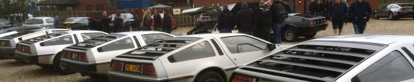 DeLorean EuroTec 2015 mini meet event