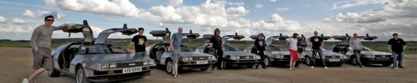 DeLorean EuroTec 2012 event