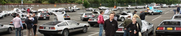 DeLorean Eurofest 2011 event