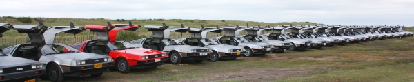 DeLorean EuroTec 2011 event