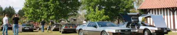 DeLorean Silvercoast 2010 event