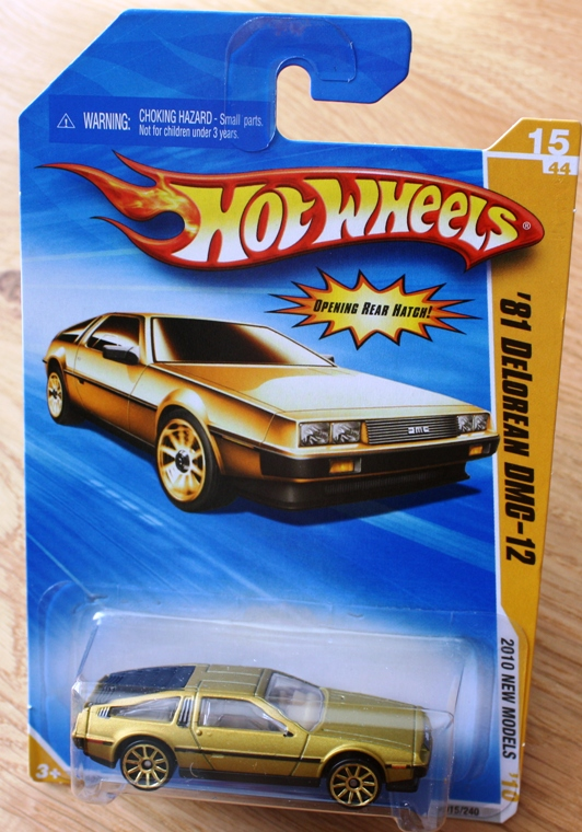 Delorean For Sale Uk >> DeLorean Club (UK) EuroTec Forum • View topic - DeLorean GOLD 'Hot Wheels' Cars - £2.95 ...